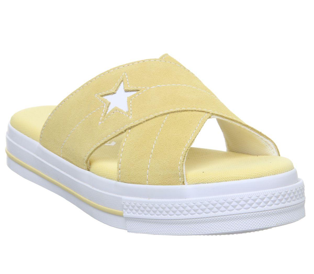 Detalles One Mujer De Amarillo Egret Converse Blanco Star Sandalias Butter y8ONn0vmw