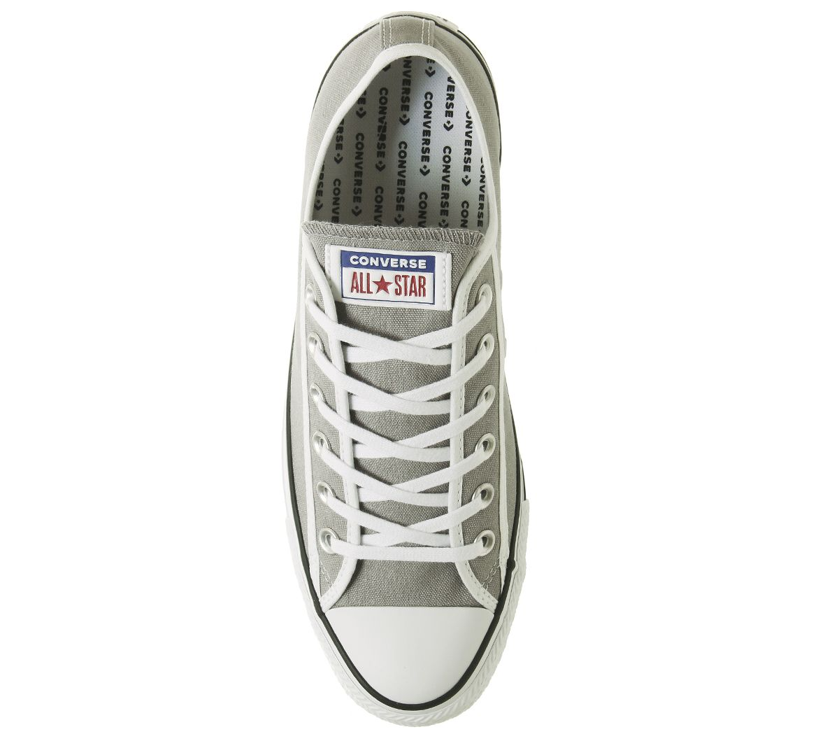 f4af363710e0f Converse Converse All Star Baskets Basses Dauphin Baskets Blanches ...