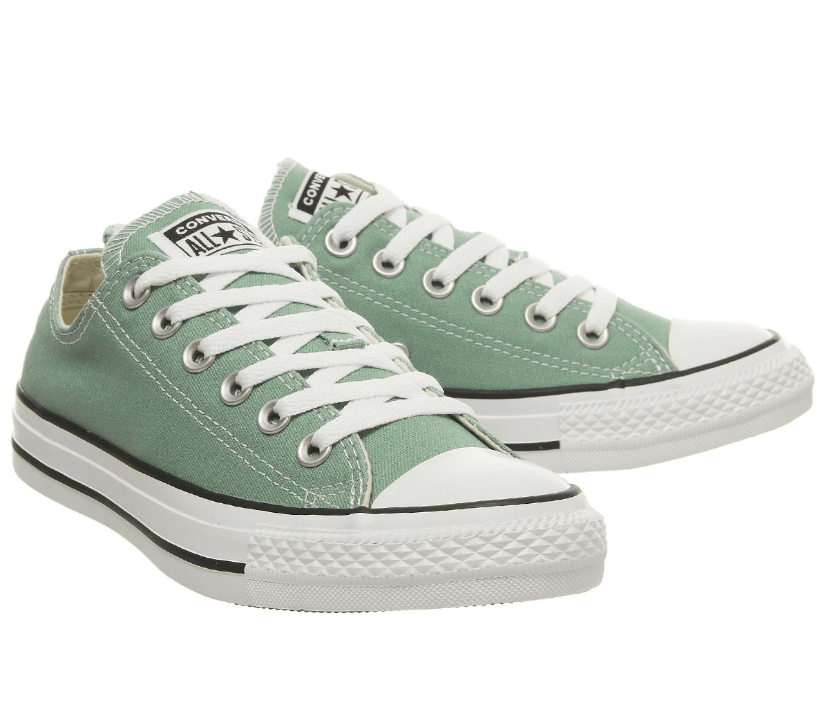 5fbcf2a9d6d4 Sentinel Mens Converse Converse All Star Low Trainers Mineral Teal Trainers  Shoes