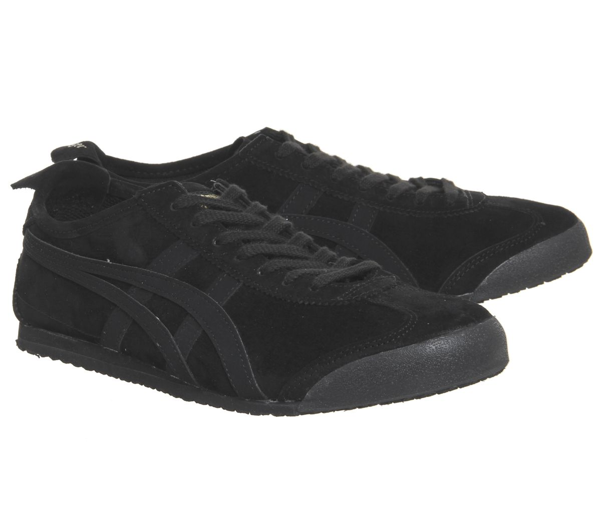 a40533b2f89 Sentinel Onitsuka Tiger Mexico 66 Trainers Black Black Trainers Shoes