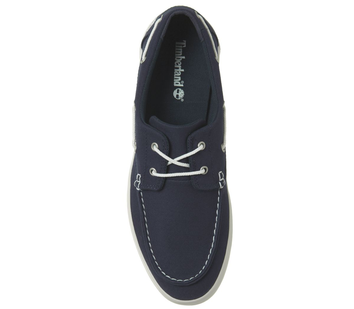ee6d3f50ac27c4 Mens Timberland Newport Bay 2 Eye Boat Oxfords Navy Casual Shoes | eBay