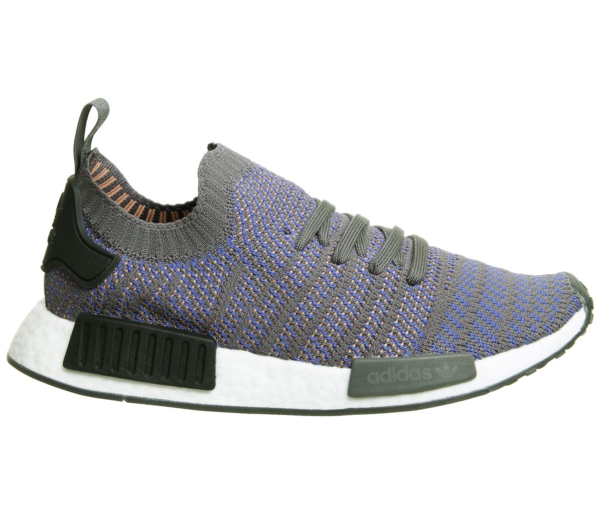 Details zu Adidas Nmd R1 Prime Knit Trainers Hi Res Blue Black White Trainers Shoes