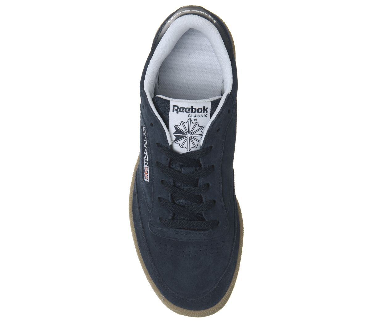 Reebok Club C 85 Trainers Trainers Trainers Indoor Collegiate Navy Gum Trainers zapatos 461744