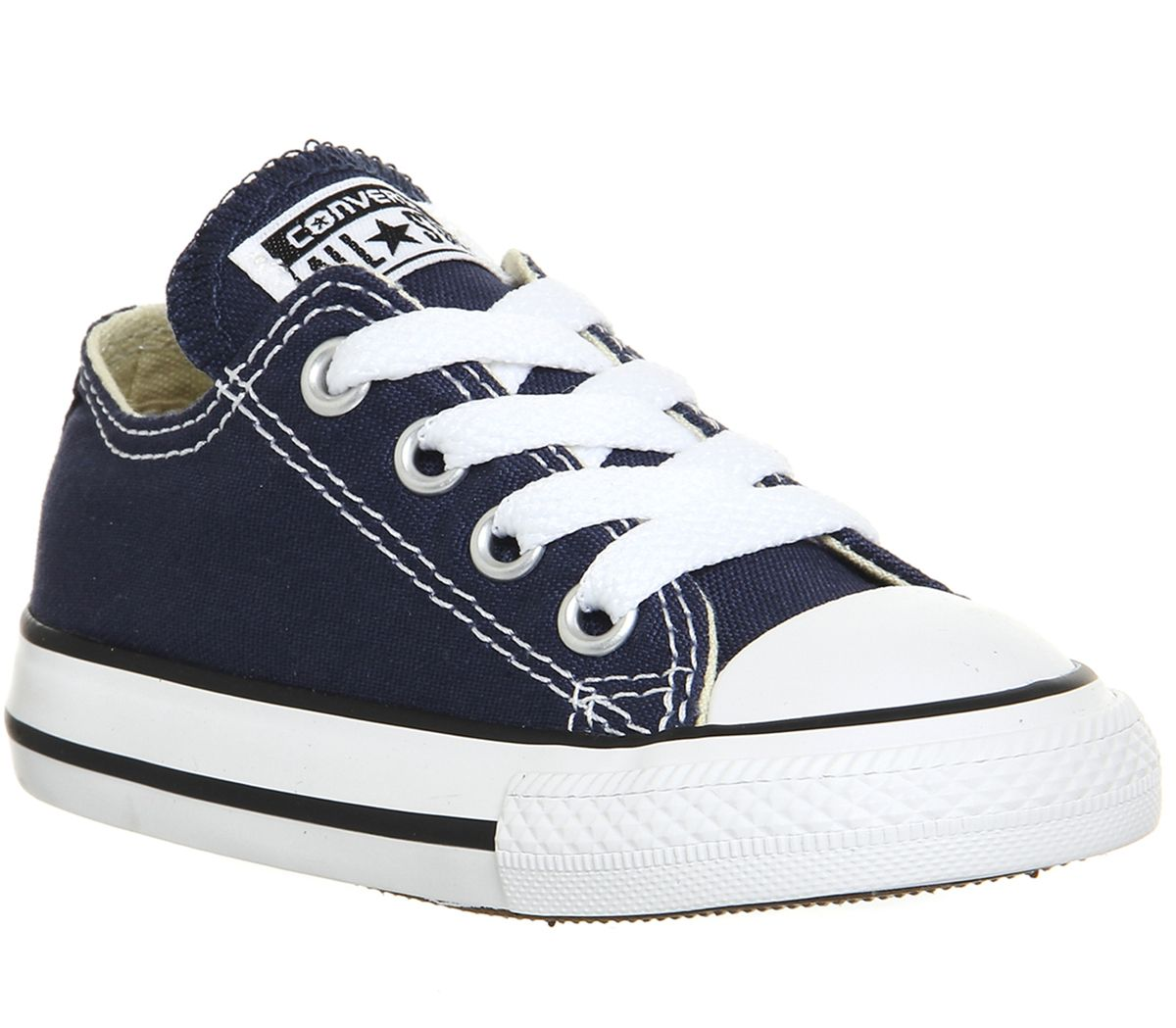 Details about Kids Converse All Star Low Infant Shoes Navy Kids