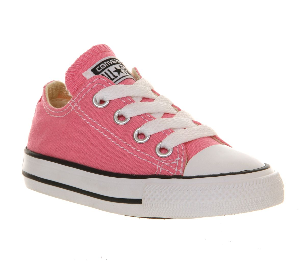 Details zu Kinder Converse All Star Low Kleinkind Schuhe Rosa Kinder