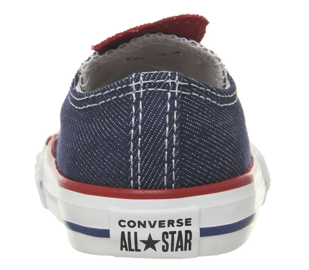 5cc7286eaf70c Enfants Converse Allstar Basse Baskets Enfant Jean Emamel Coeur ...
