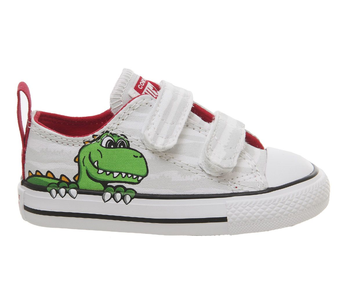 the latest d33f1 ac407 Enfants-Converse-All-Star-2-vlace-Baskets-Blanc-