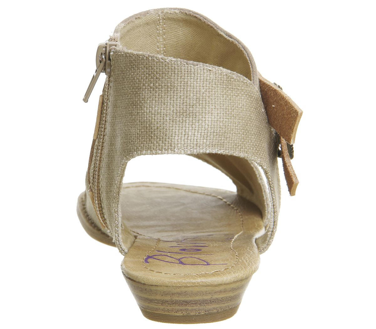 1d96da9bb2d4 Womens Blowfish Balla Sandals Desert Sand Canvas Dye Cut Sandals
