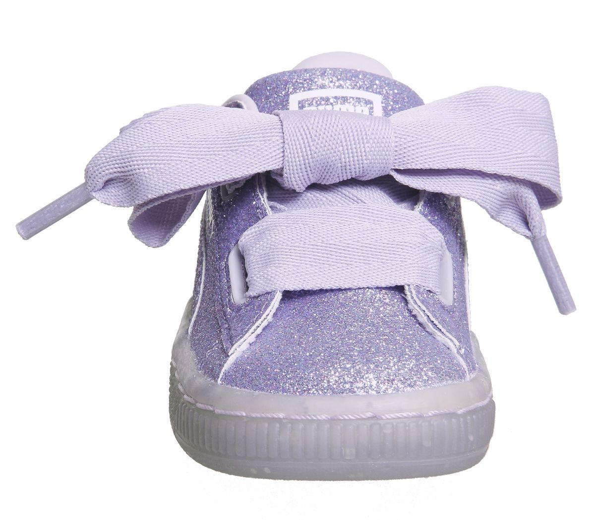 ec4d983cbd4c Kids Puma Basket Heart Inf Thistle Glitter Exclusive Kids