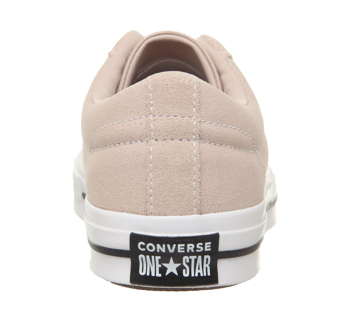 Womens-Converse-One-Star-Trainers-Particle-Beige-White-Black-Trainers-Shoes thumbnail 7