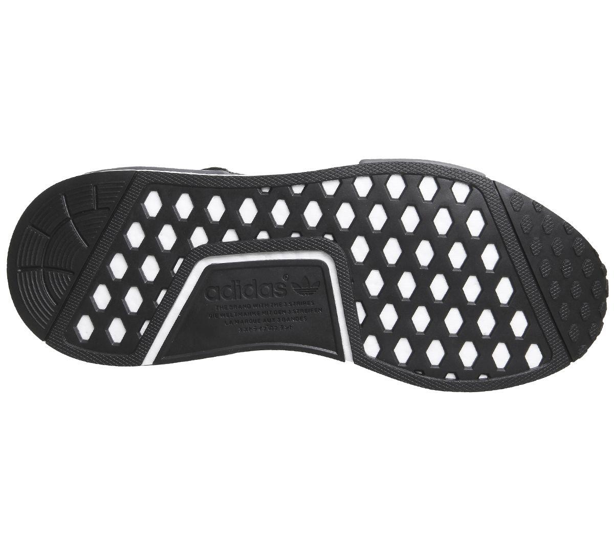 Adidas Adidas Adidas Nmd R1 Turnschuhe Kern Schwarz Grau Weiß Turn Schuhe 16523b