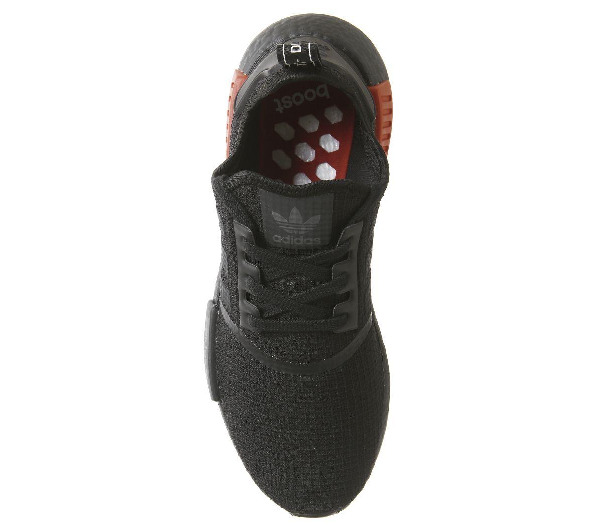 size 40 14aa7 5abb6 Adidas-Nmd-R1-Scarpe-Sportive-Core-Nero-Caldo-