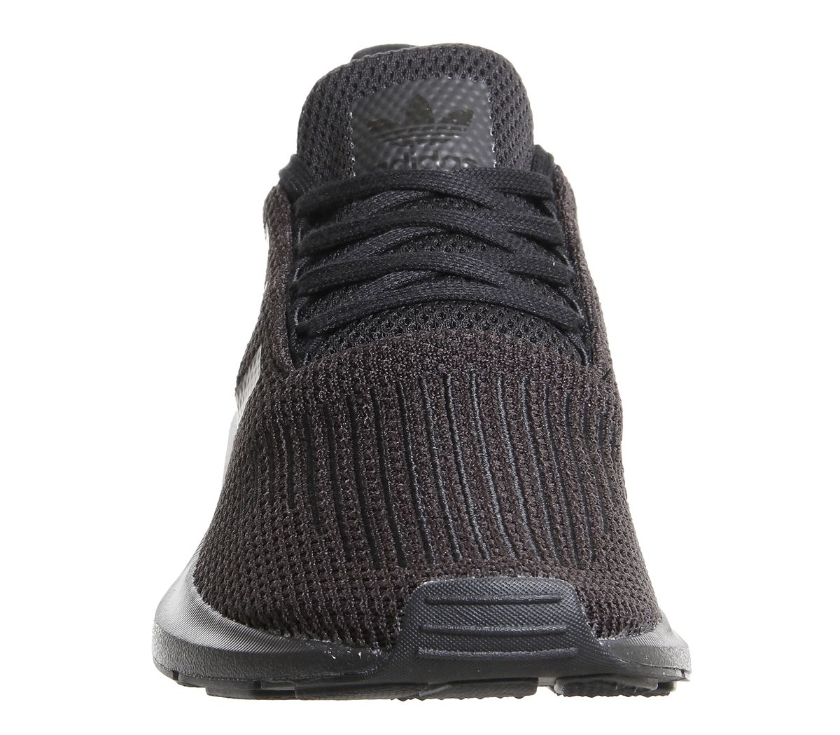 Mens-Adidas-Swift-Run-Trainers-Black-Trainers-Shoes thumbnail 6