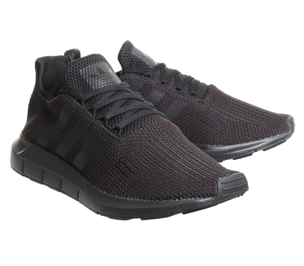 new arrival 485fc 122b0 Sentinel Mens Adidas Swift Run Trainers Black Trainers Shoes