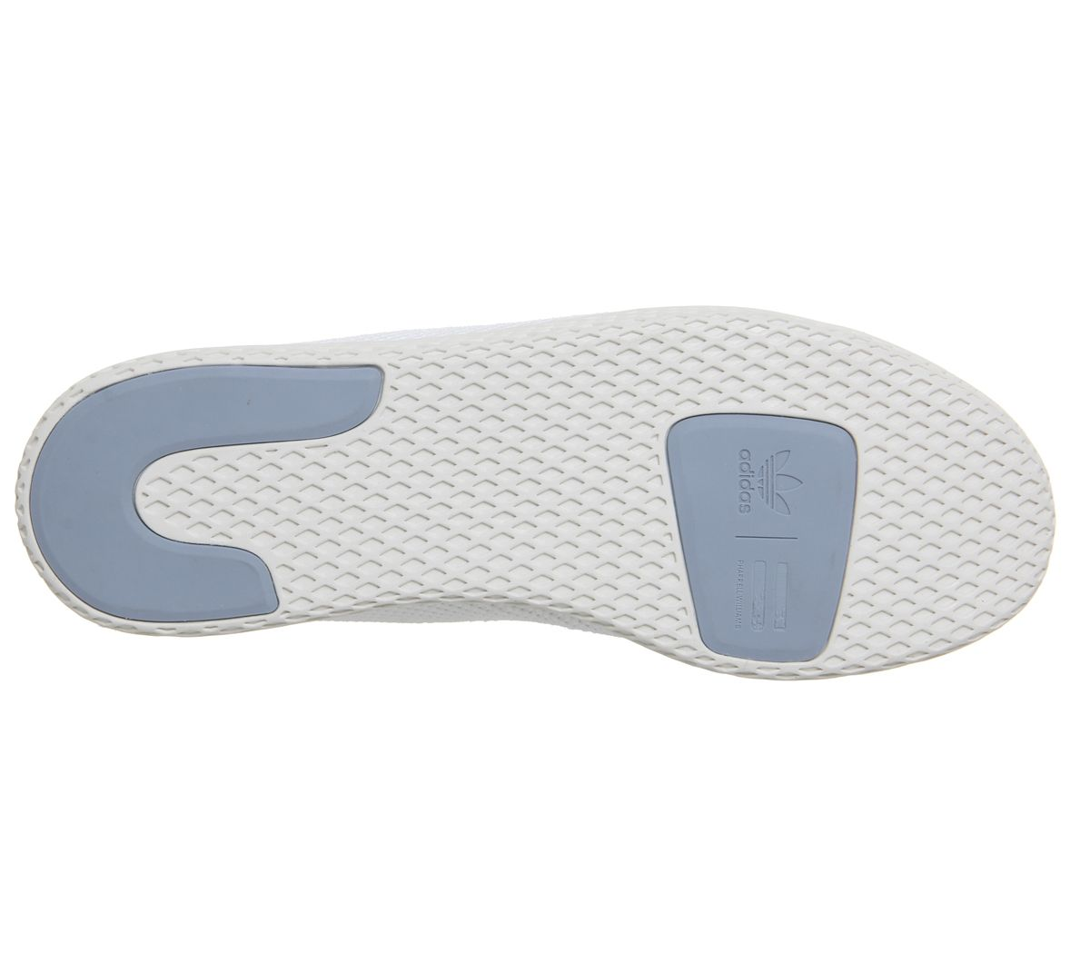 outlet store 1ad72 90213 Da-Uomo-Adidas-Pw-Tennis-HU-Bianco-Scarpe-