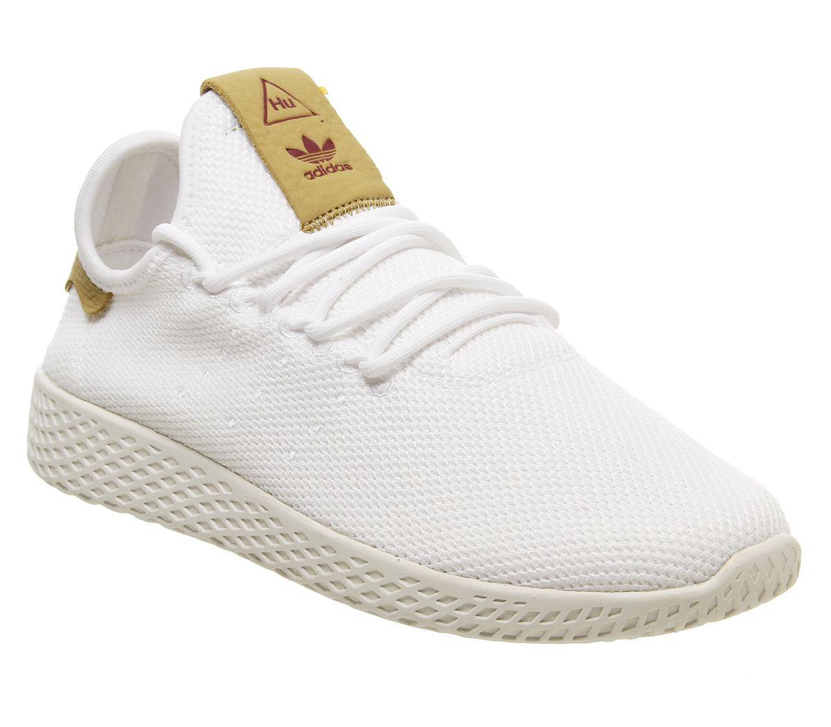 Detalles de Mujer adidas Pw Zapatillas de Tenis Blanco Crudo Arena Zapatillas Deportivas