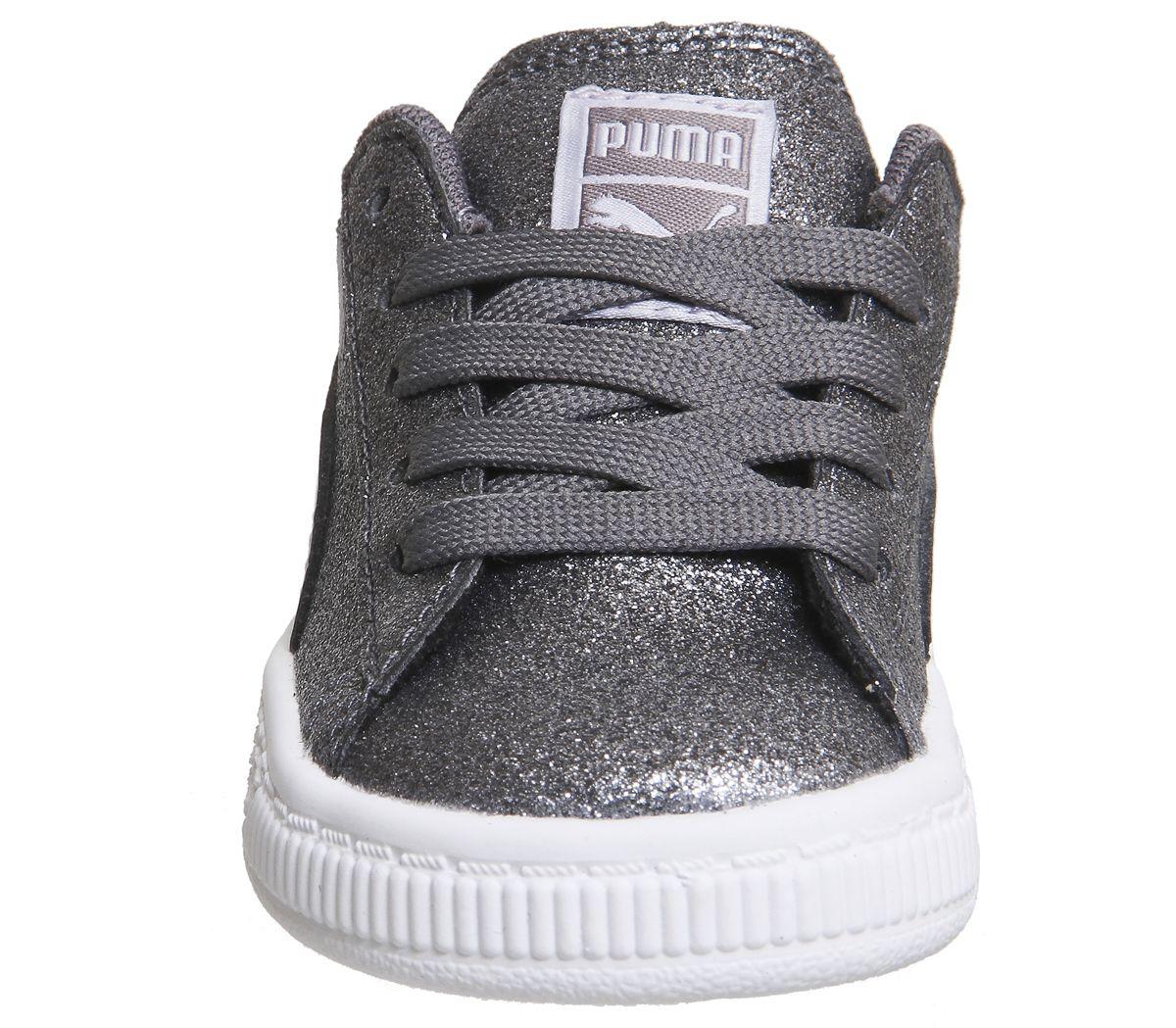 6106f22dcffc7 Kids-Puma-Basket-Infant-Silencieux-OMBRE-GLITTER-KIDS miniature
