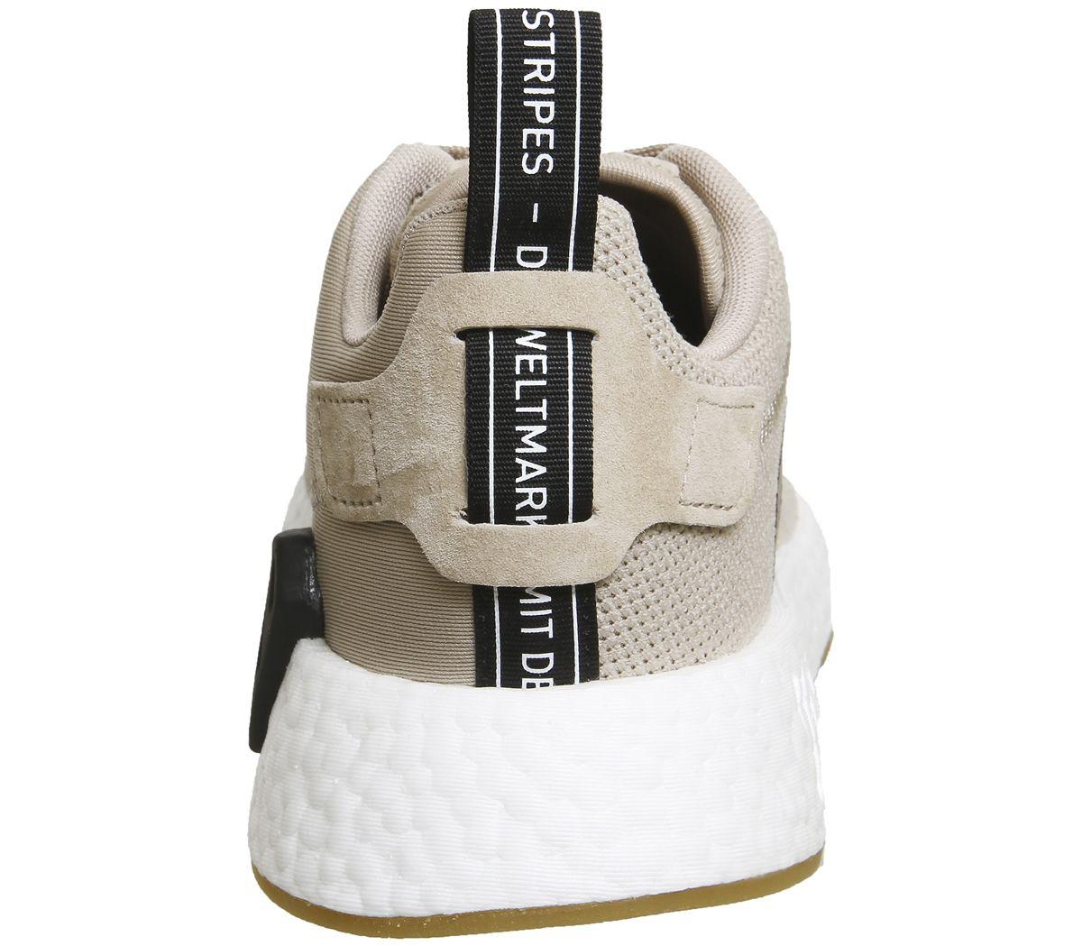 Adidas da Donna Nmd R2 R2 R2 Traccia Khaki Marroneee Scarpe da Ginnastica f86d82