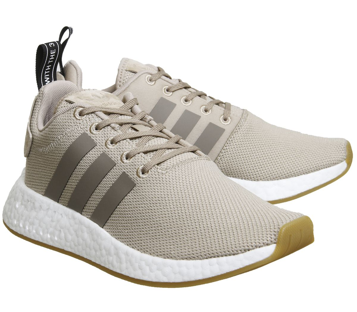 dcfc083d8 Sentinel Womens Adidas Nmd R2 Trace Khaki Brown Trainers Shoes