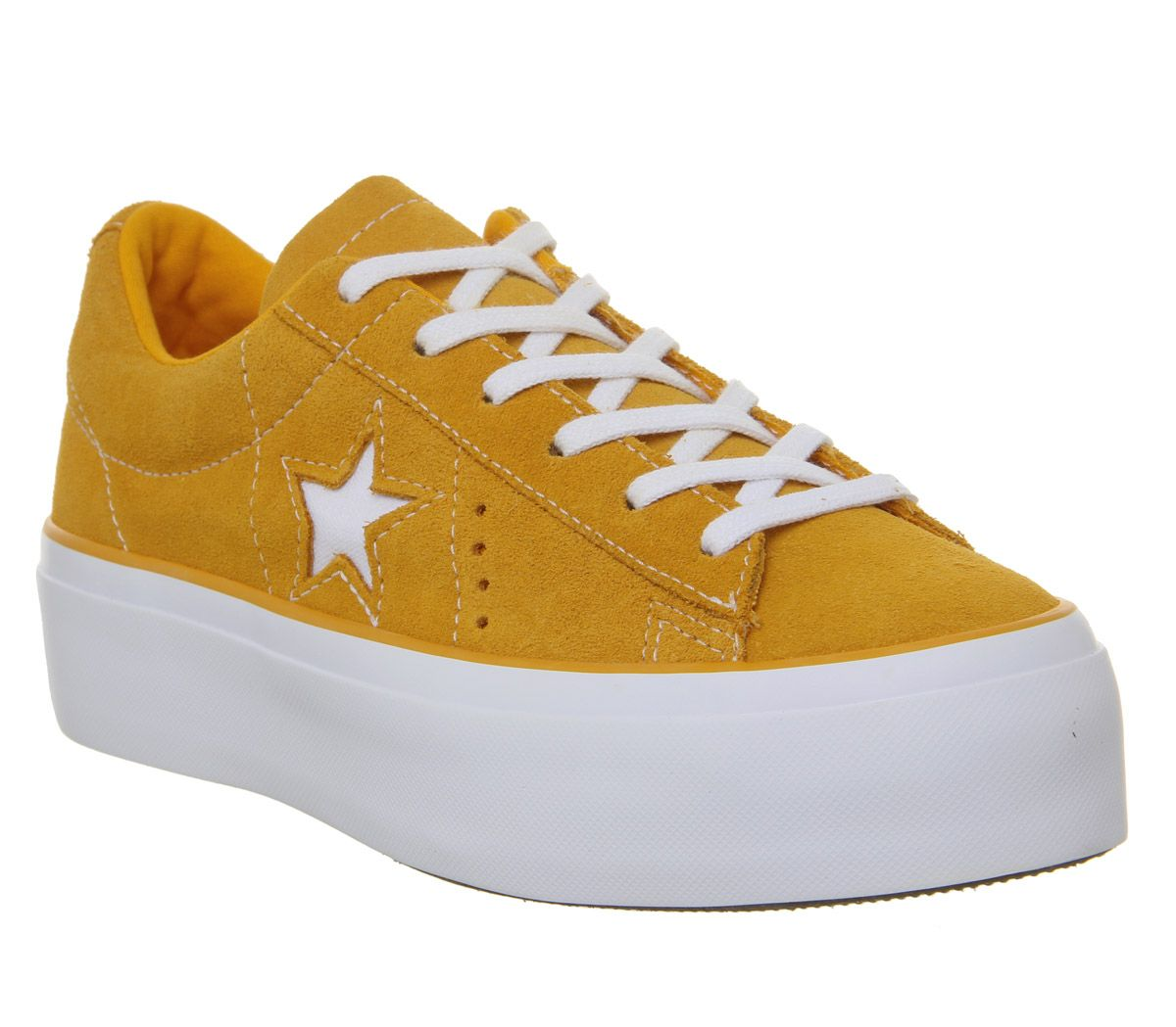 Détails sur Chaussures Femme Converse One Star Plate forme Baskets Field Orange Blanc Baskets Chaussures afficher le titre d'origine