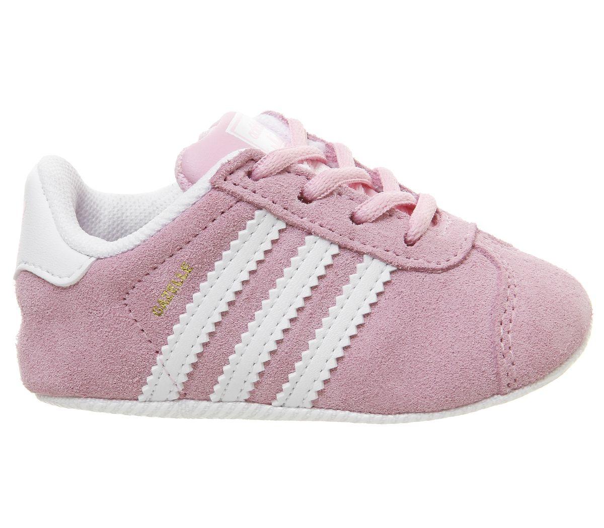 official photos 78a6a b28a2 SENTINEL Bambini Adidas Gazelle presepe formatori vero bambini rosa