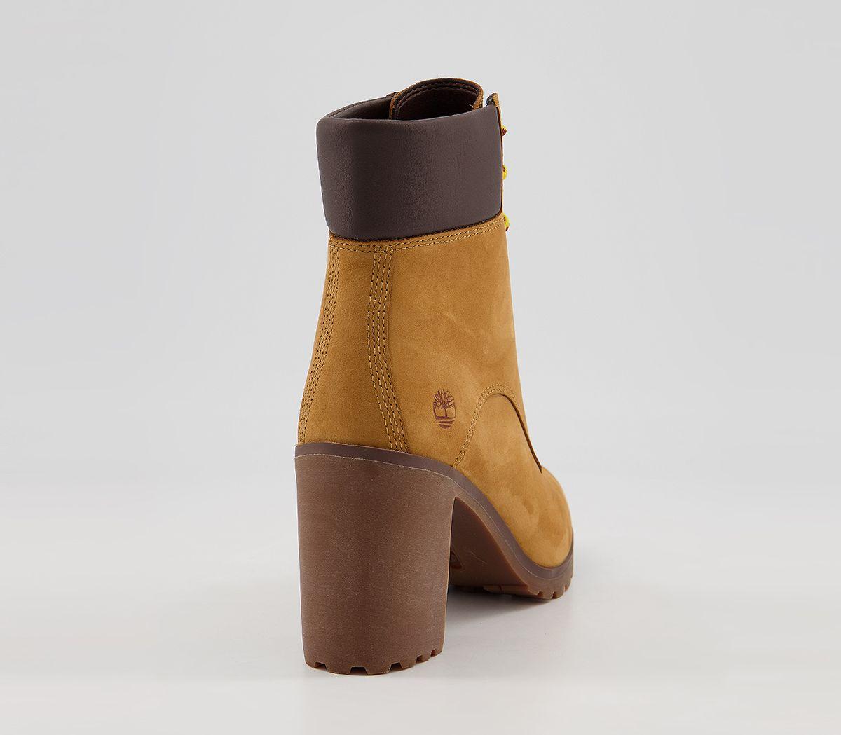 14cb16eb590b20 Donna Timberland Allington 15.2cm Stivali con Lacci Grano Stivali   eBay