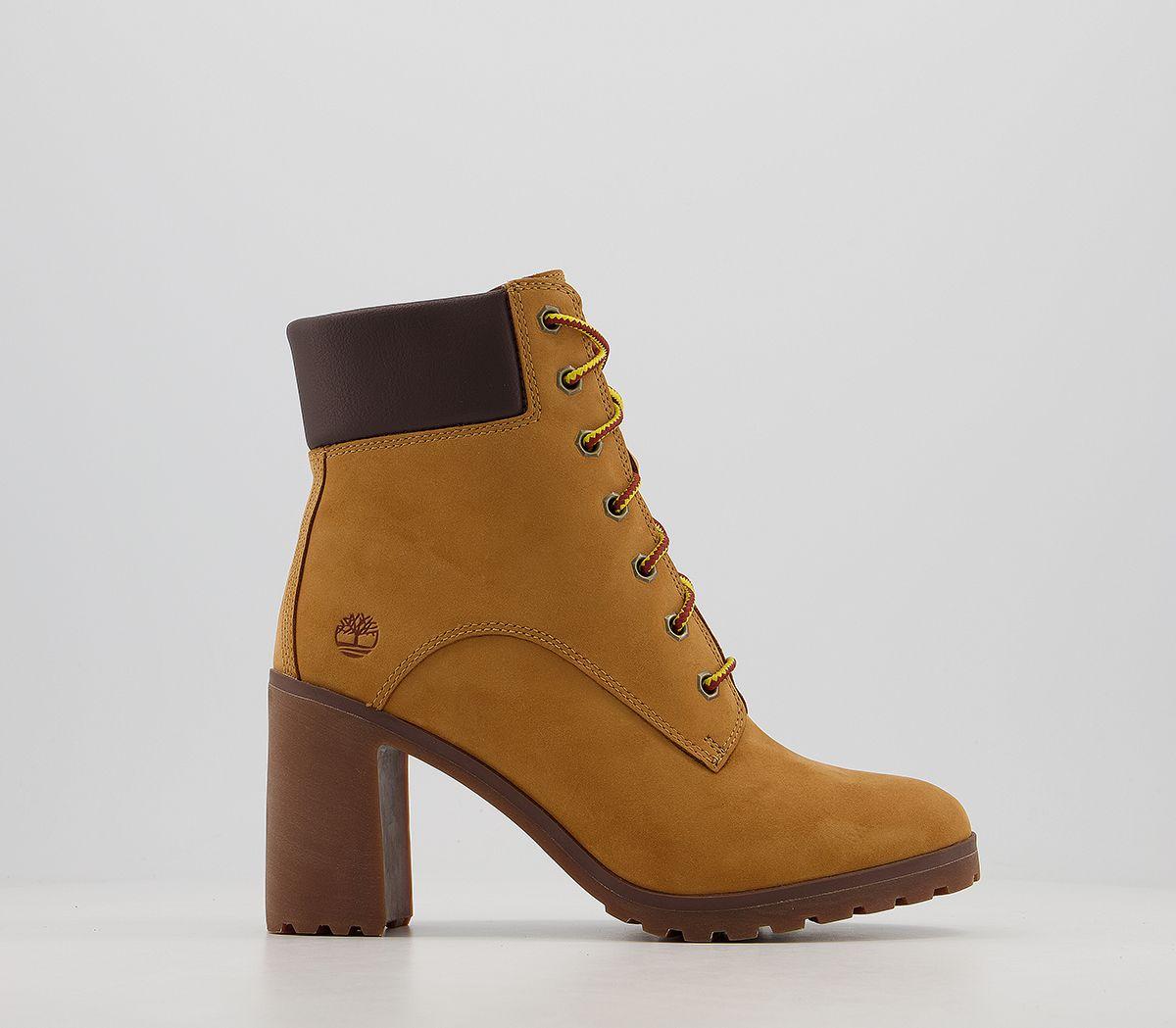 14cb16eb590b20 Donna Timberland Allington 15.2cm Stivali con Lacci Grano Stivali | eBay
