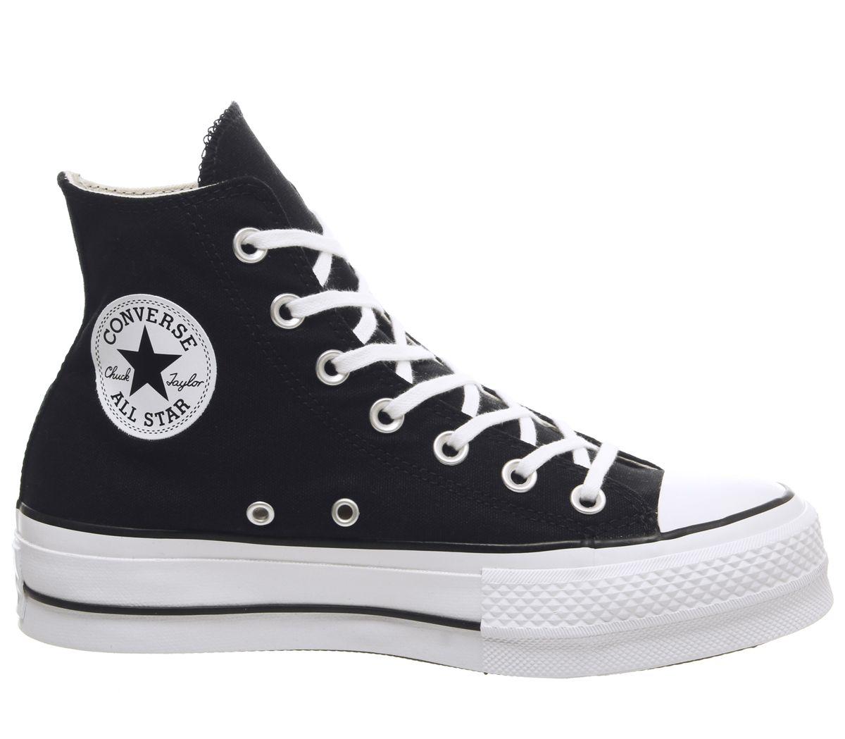 zapatillas mujer negras converse