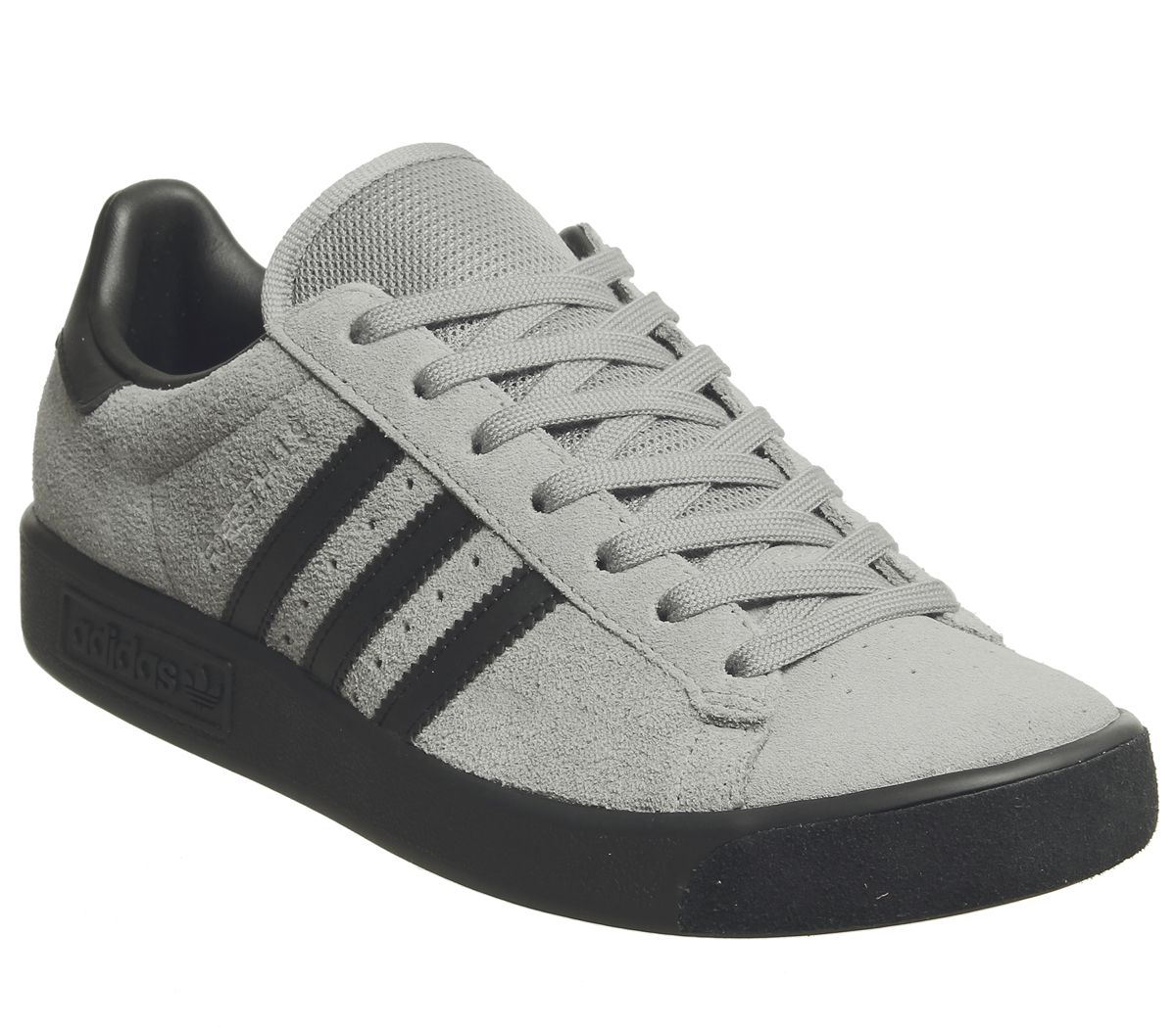 55fbd492ca Sentinel Mens Adidas Forest Hills Trainers Grey Three Core Black Exclusive  Trainers Shoes