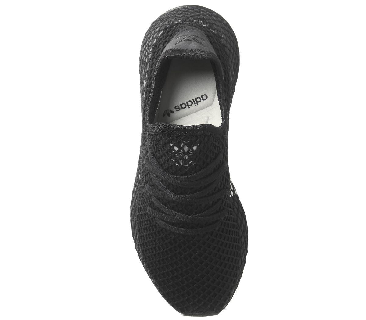 f0d40cb54 Mens Adidas Deerupt Trainers Core Black Core Black Trainers Shoes