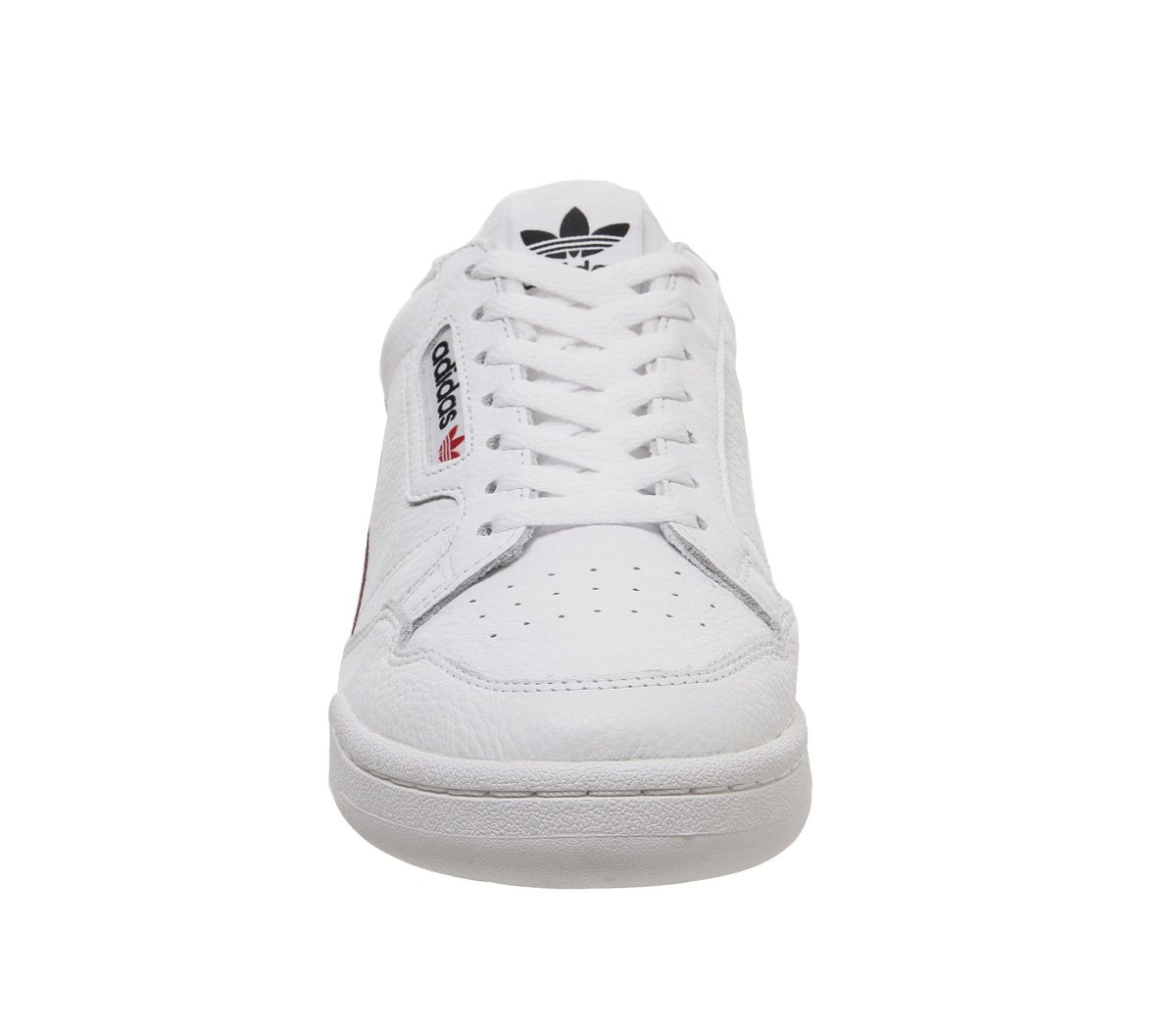 Adidas-80S-Continental-Trainers-White-White-Scarlet-Navy-Trainers-Shoes thumbnail 3