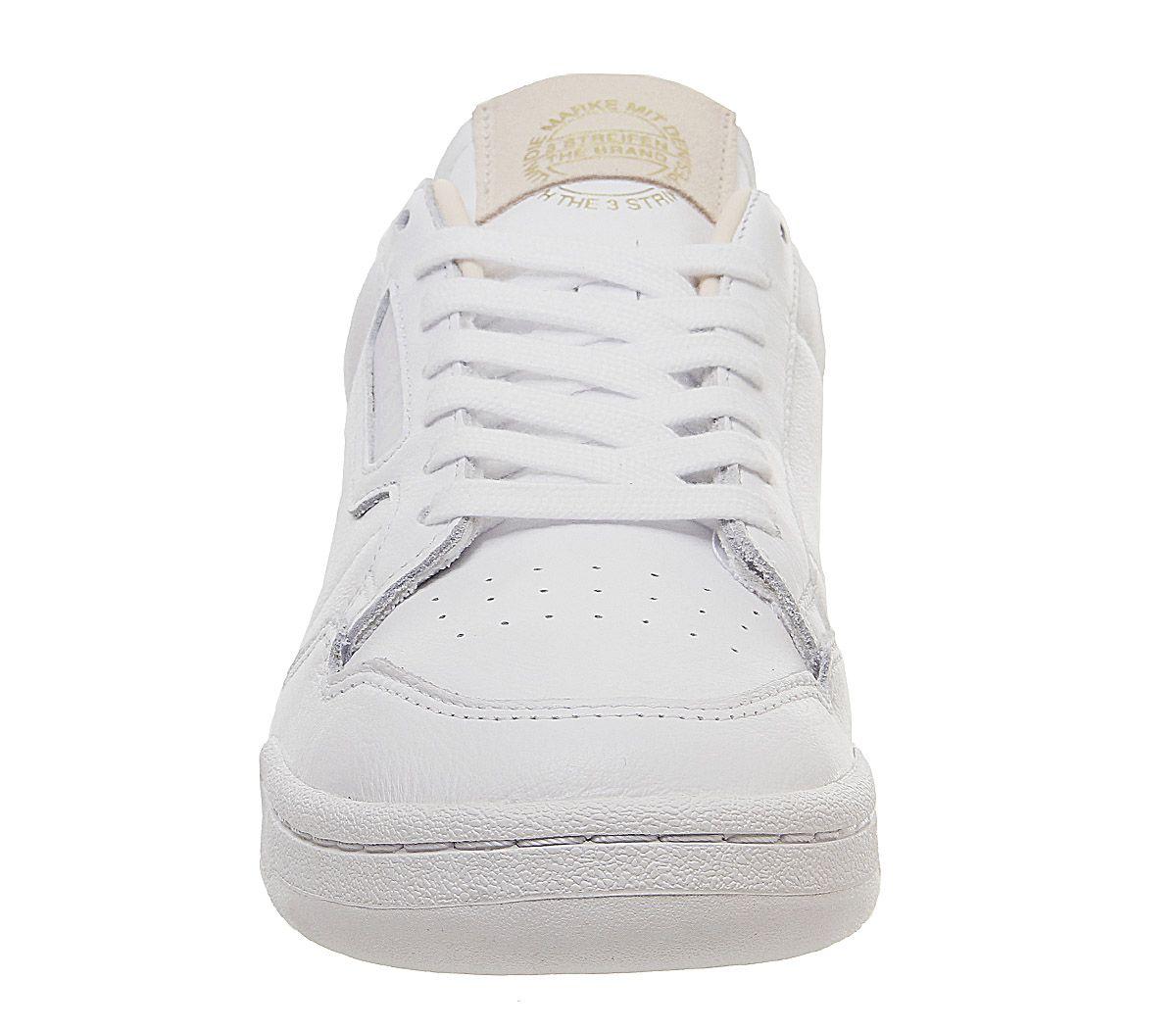 Adidas-Continental-80S-Scarpe-da-ginnastica-White-White-Scarpe-da-ginnastica-bianco-cristallo miniatura 3