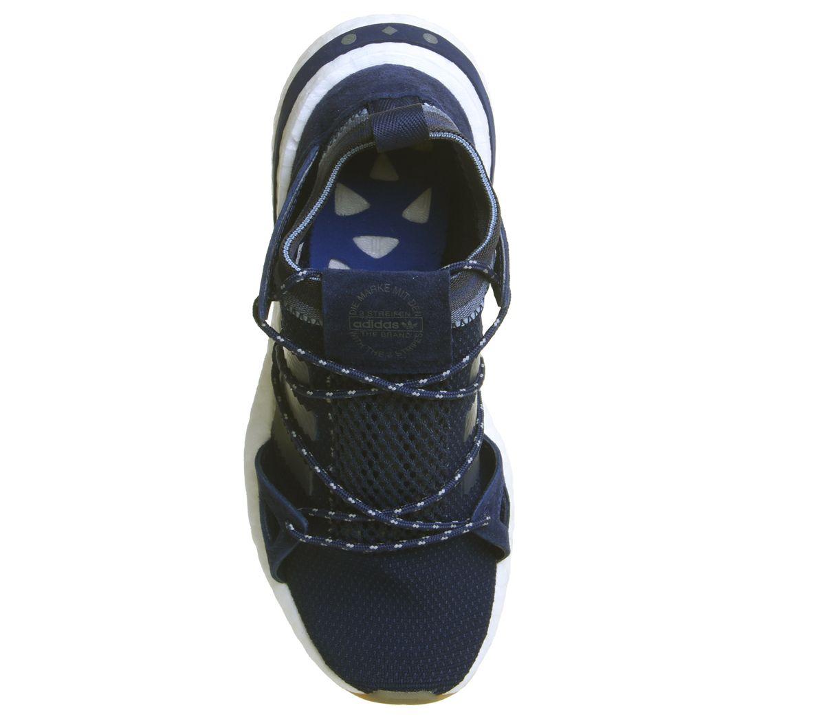 Mujer-Adidas-Arkyn-Zapatillas-Universo-Azul-Oscuro-Goma-Zapatillas-Deportivas miniatura 10