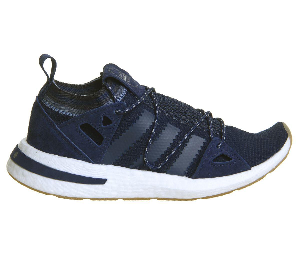 Mujer-Adidas-Arkyn-Zapatillas-Universo-Azul-Oscuro-Goma-Zapatillas-Deportivas miniatura 4