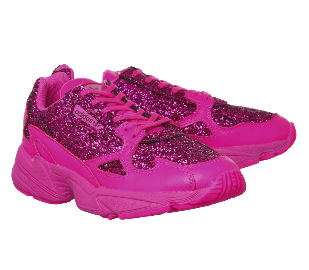 promo code 79389 2baa8 Sentinel Womens Adidas Falcon Trainers Shock Pink F Trainers Shoes