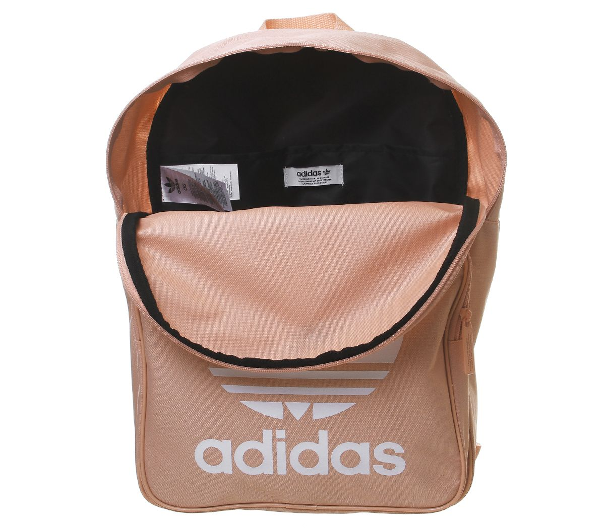 adidas Trefoil Backpack Maroon White Accessoires