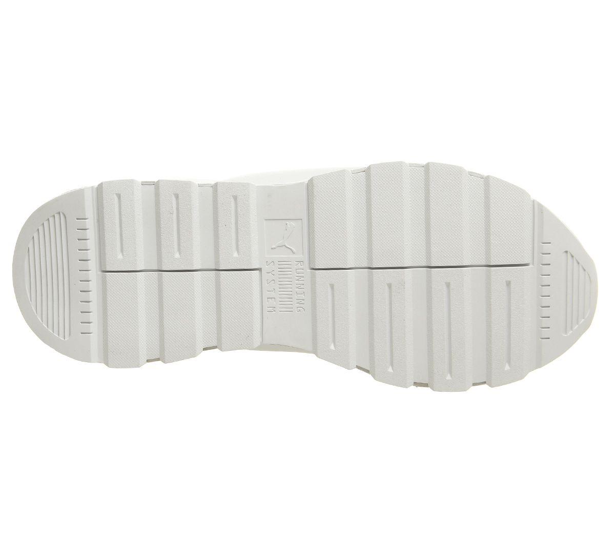 080bf533d4 Donna-Puma-Rs-0-Ottica-Bianco-Argento-Scarpe miniatura