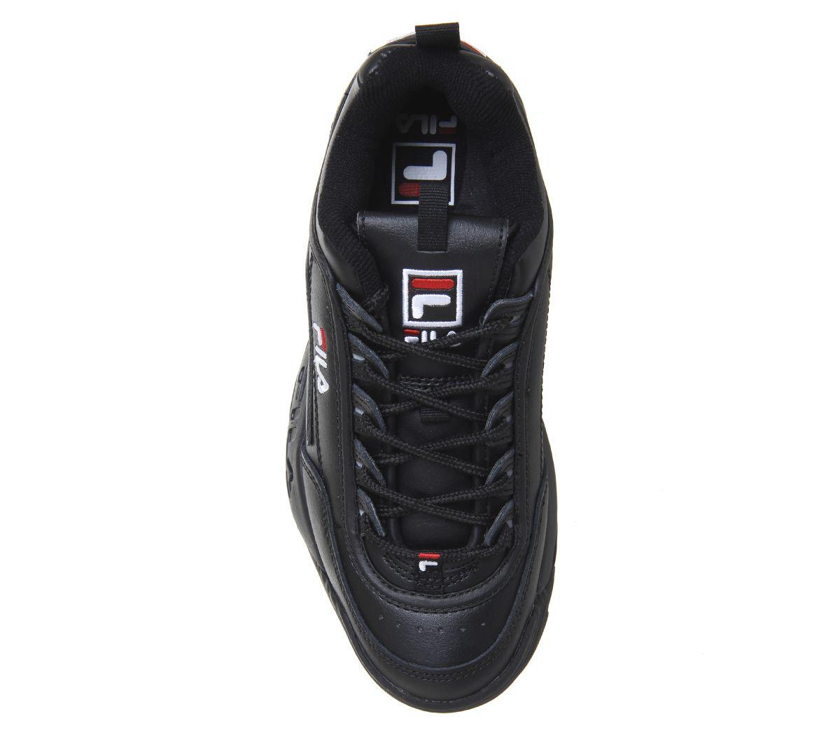 Donna-Fila-Disruptor-II-Scarpe-Sportive-Nero-Mono-Scarpe-da-Ginnastica miniatura 10
