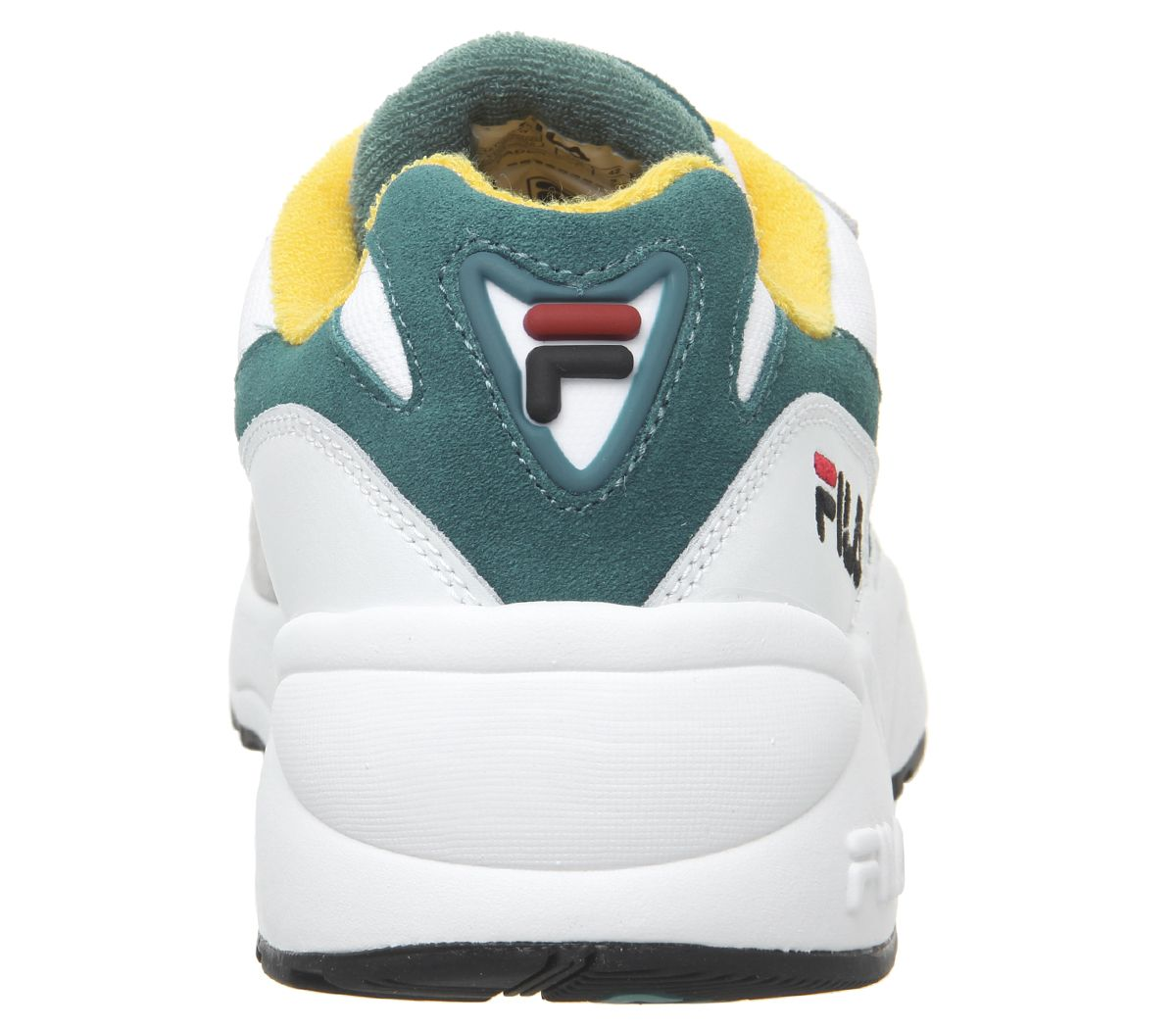 Fila-Venom-Trainers-Gray-Violet-Shaded-Spruce-Inca-Gold-Baskets-Chaussures miniature 8