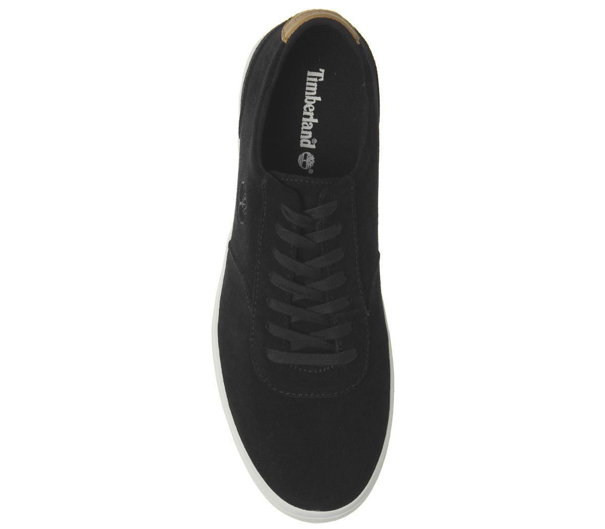 Timberland-Zapatillas-de-Union-Exclusivo-Negro-Zapatillas-Zapatos miniatura 4