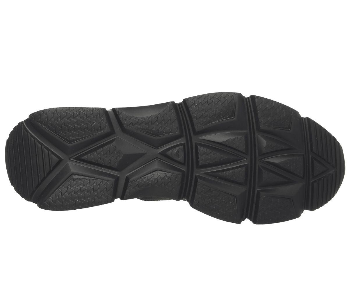 Hommes-Ask-The-Missus-Lignee-Baskets-Hi-Kaki-Daim-Decontracte-Chaussures miniature 12