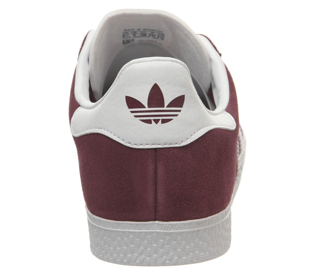 zapatillas adidas burdeos mujer
