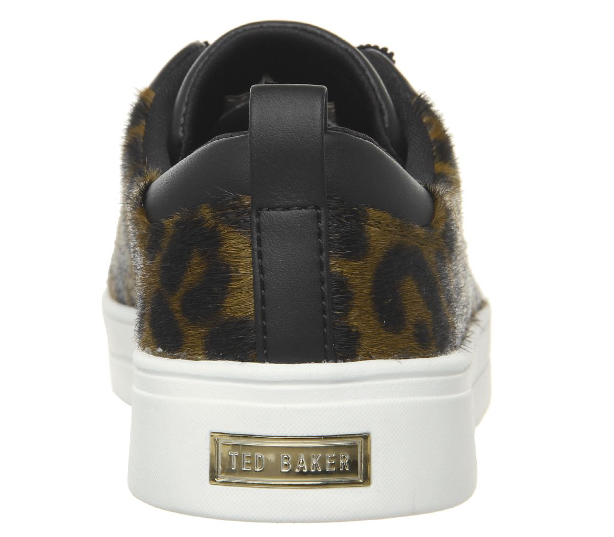 69daeaf270257 Womens-Ted-Baker-Elzseel-Sneakers-Leopard-Flats thumbnail 11