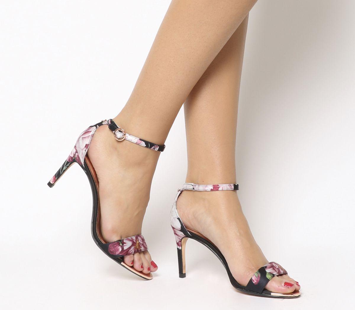 fcccb2689b7 Sentinel Womens Ted Baker Mylli Heels Black Iguazu Heels
