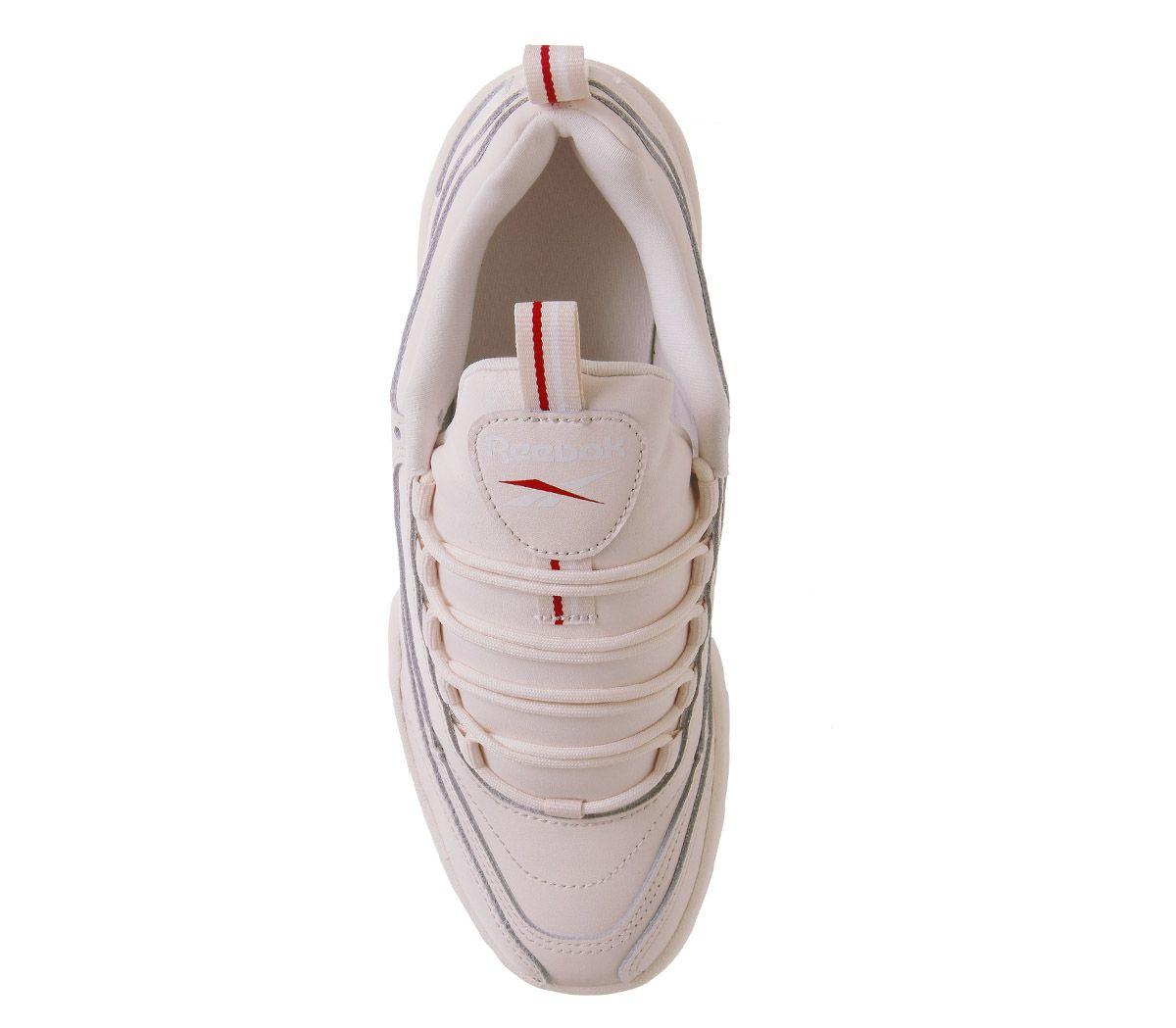 Détails sur Femmes reebok Rivyx Ondulé Baskets Rose Pâle Blanc Excellent Rouge Baskets
