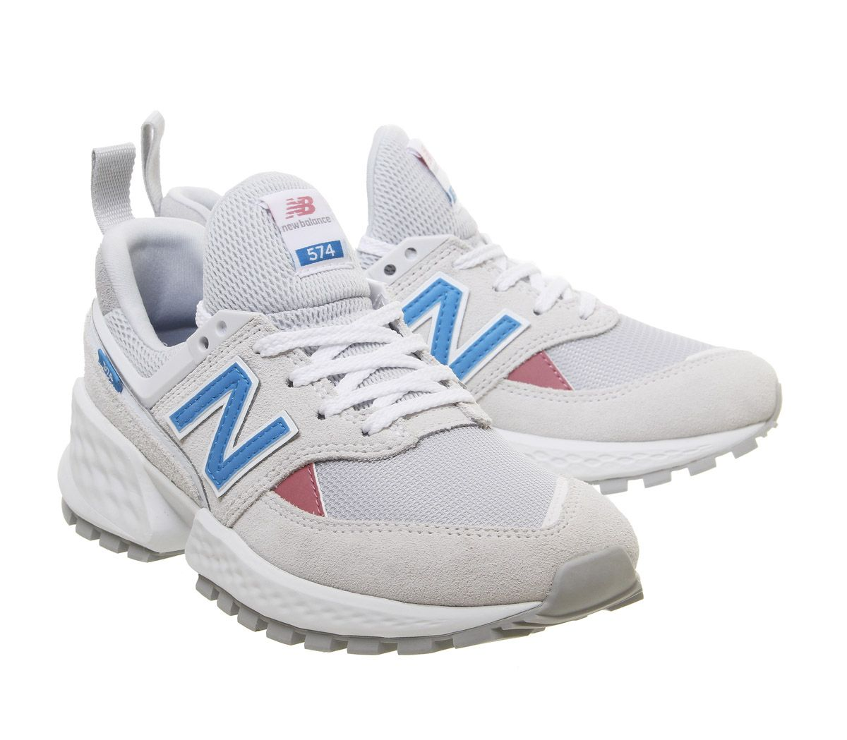 the best attitude a269c b6ab7 SENTINELLE Femmes New Balance 574 Sport V2 Baskets Chaussure Baskets Artic  Fox Deep Ozone Blue. SENTINELLE Vignettes Photo 8