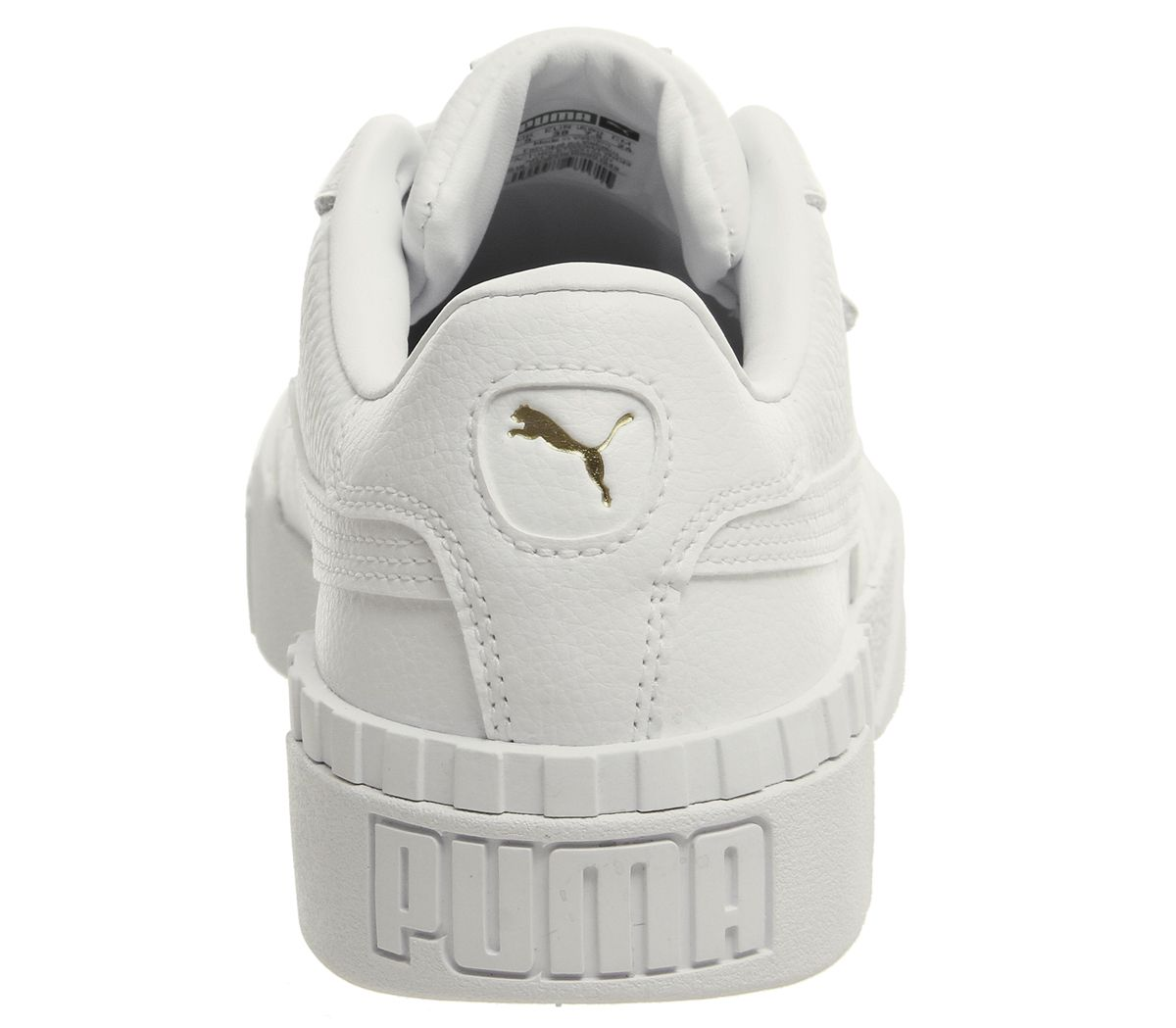 4620dbd15 Sentinel Womens Puma Cali Trainers Puma White Puma White Trainers Shoes