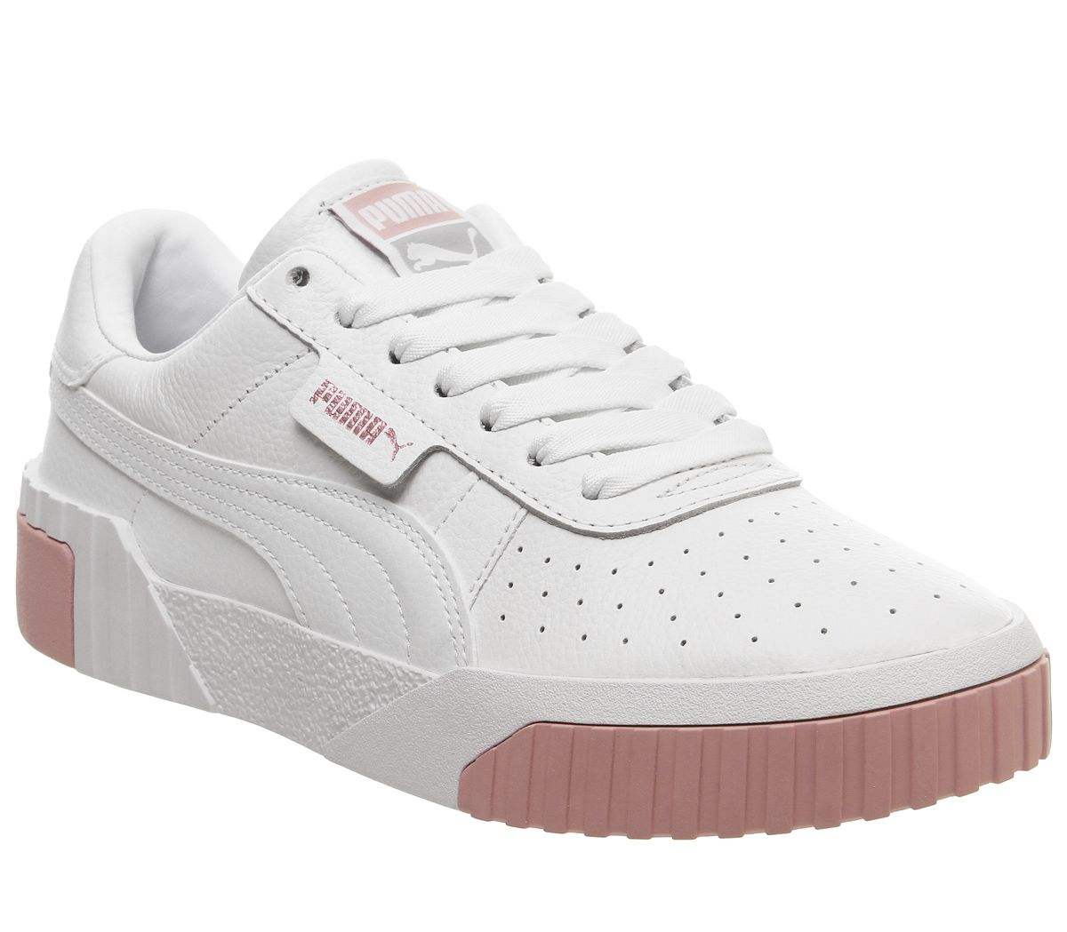 super quality best quality exclusive deals Femmes puma Cali Baskets puma Blanc or Rose Baskets | eBay