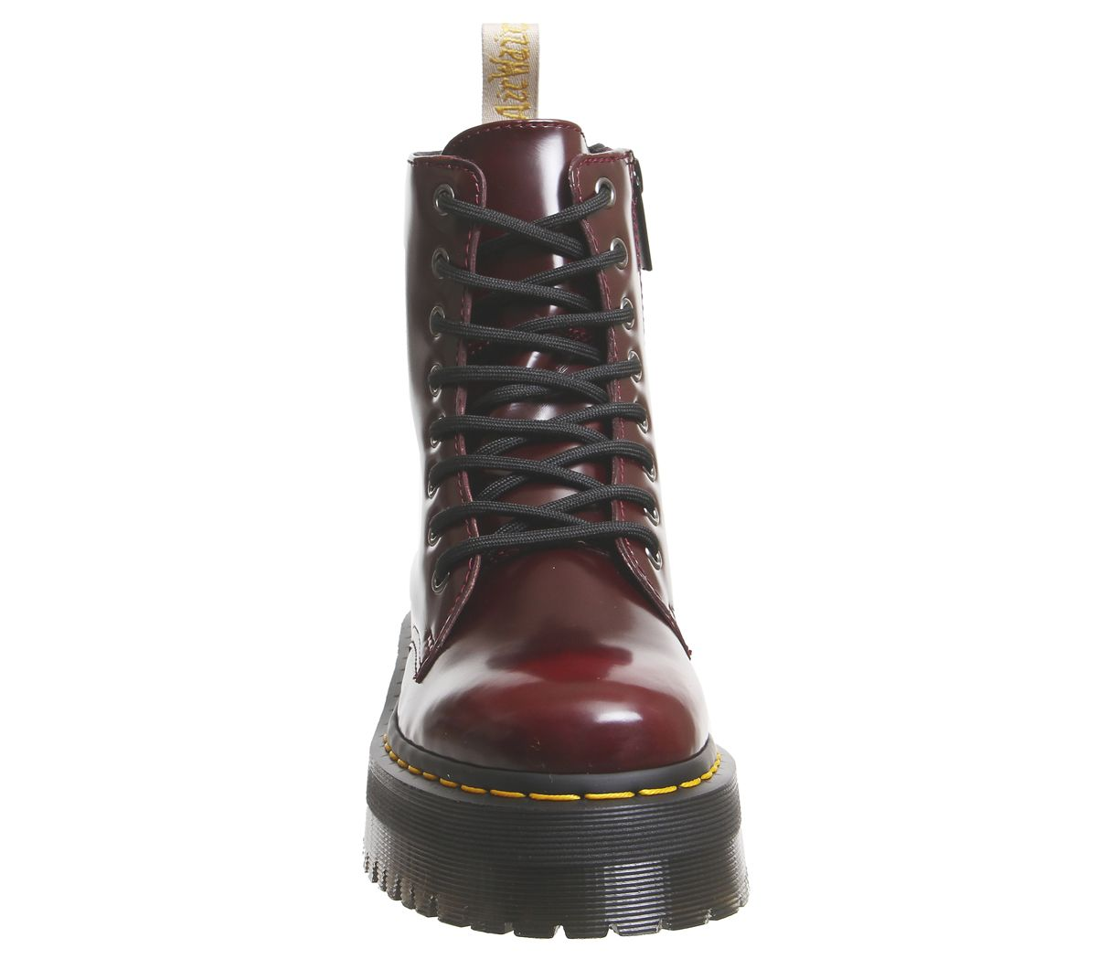 8ef69fe91d1 Womens Dr. Martens V Jadon 8 Eye Boots Cherry Red Boots
