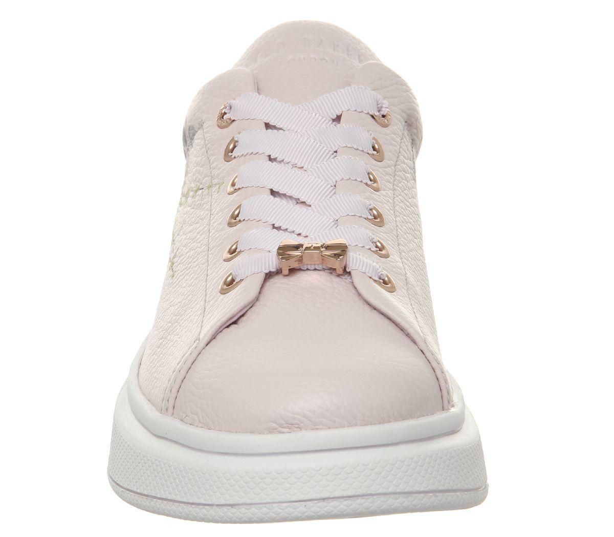 Womens Ted Baker Baker Baker Ailbe 3 Trainers Elegant Pink Flats c1f896